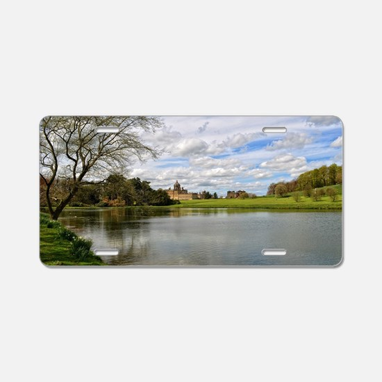 Castle Howard from the Lake Aluminum License Plate