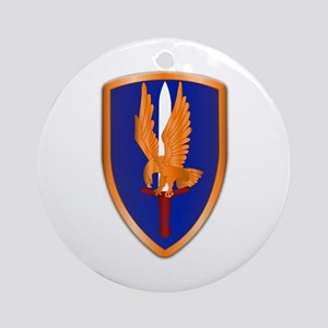 1st Aviation Brigade Ornament (Round)