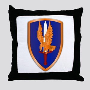 1st Aviation Brigade Throw Pillow