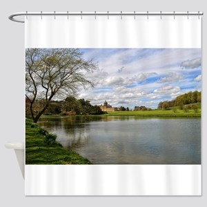 Castle Howard from the Lake Shower Curtain