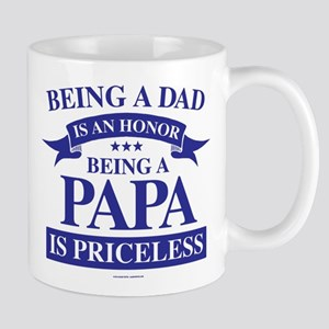 Being a Papa is Priceless Mugs