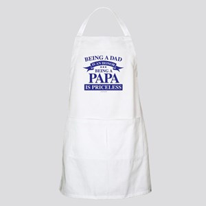 Being a Papa is Priceless Apron