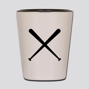 Baseball Bats Shot Glass