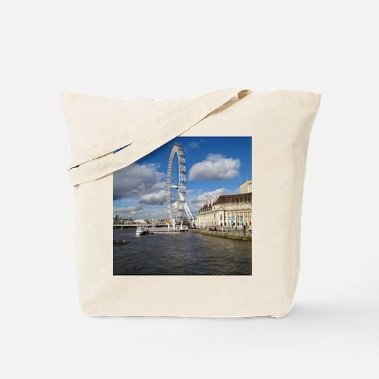 London Eye, England, United Kingdom Tote Bag
