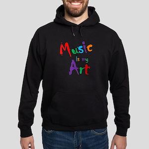 Music is my Art Hoodie