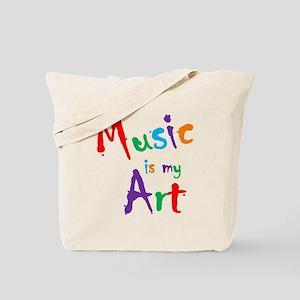 Music is my Art Tote Bag