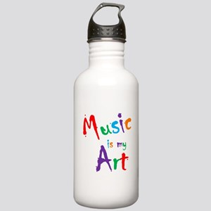 Music is my Art Water Bottle