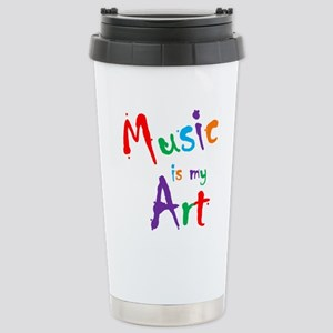 Music is my Art Travel Mug