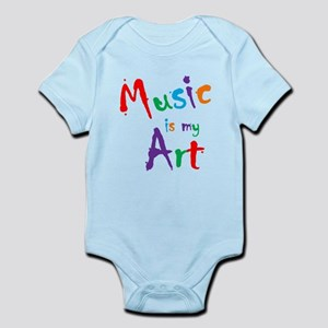 Music is my Art Body Suit