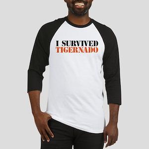 I Survived Tigernado Baseball Jersey