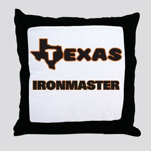 Texas Ironmaster Throw Pillow