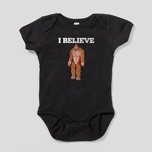 I Believe Bigfoot Baby Bodysuit