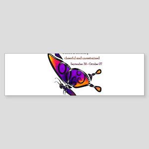 Celtic Butterfly Bumper Sticker