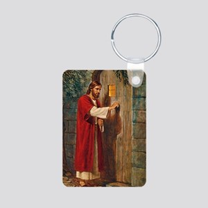 Jesus Knocks On The Door Keychains