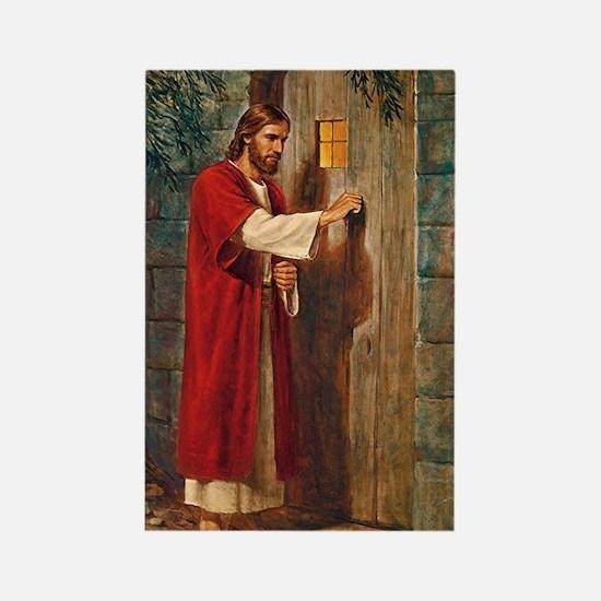 Jesus Knocks On The Door Magnets