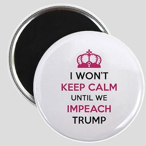 Impeach Trump Magnet
