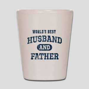 World's Best Husband and Father Shot Glass