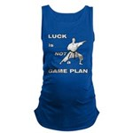 LUCK IS NOT A GAME PLAN-MARTIAL ARTS Maternity Tan