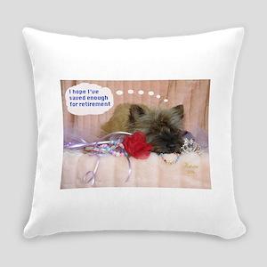 Cairn Terrier Finance Everyday Pillow