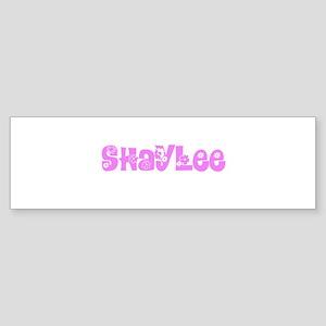 Shaylee Flower Design Bumper Sticker