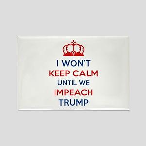 Impeach Trump Rectangle Magnet