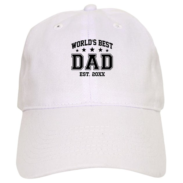af9df2c0dd7 Personalized World s Best Dad Baseball Cap by giftcy