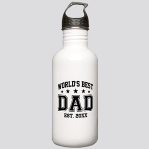 Personalized World's B Stainless Water Bottle 1.0L
