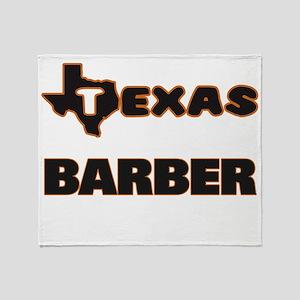 Texas Barber Throw Blanket