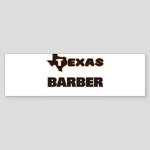 Texas Barber Bumper Sticker