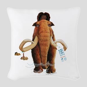 Ice Age Pretend Woven Throw Pillow