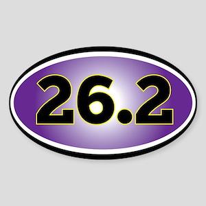 26.2 Marathon sticker Sticker