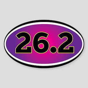 26.2 Marathon Sticker