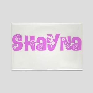 Shayna Flower Design Magnets