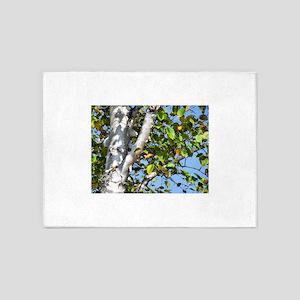 Bouleau white bark 5'x7'Area Rug