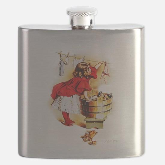 Maud Humphrey - Laundry Day Flask