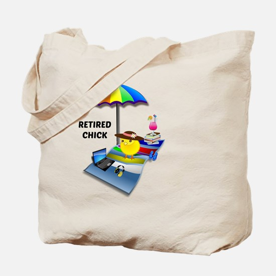 Retired Chick 2015 Tote Bag