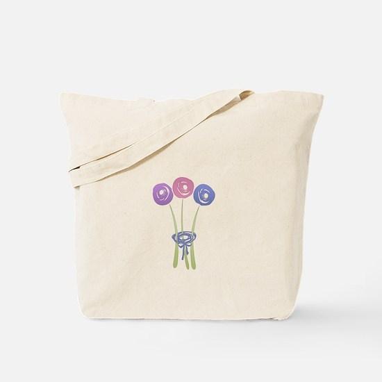 Cute Lilac Roses Tote Bag
