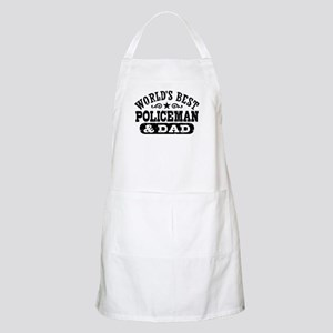 World's Best Policeman and Dad Apron