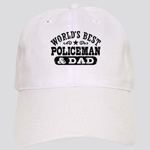 World's Best Policeman and Dad Cap