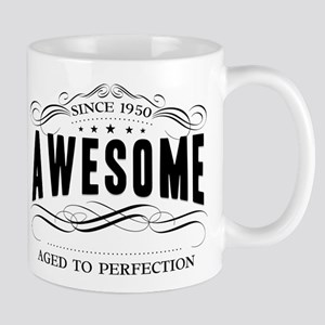 Birthday Born 1950 Awesome Mug
