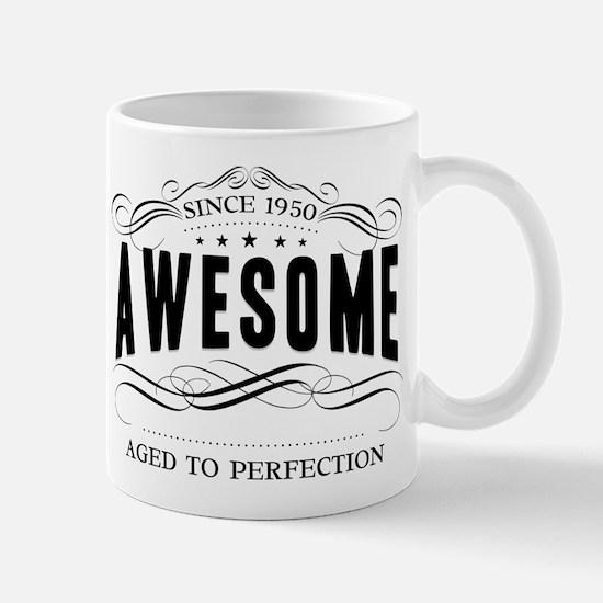 Birthday Born 1950 Awesome Mug