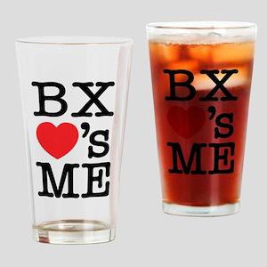 BRONX LOVE'S ME Drinking Glass