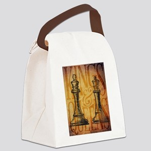 Kings and Queens Canvas Lunch Bag