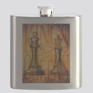 Kings and Queens Flask