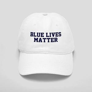 Blue Lives Matter Shadow Cap