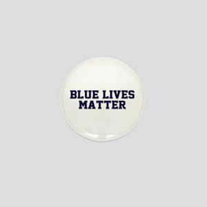 Blue Lives Matter Shadow Mini Button