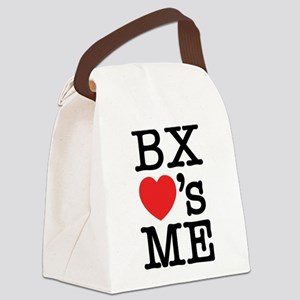 BRONX LOVE'S ME Canvas Lunch Bag