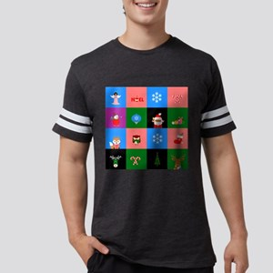 african santa claus colorblock T-Shirt