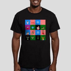 african santa claus colorblock T-Shirt
