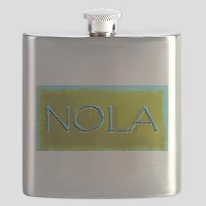 NOLA OLIVE TURQ Flask